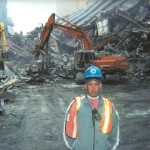 First Responder John Feal at Ground Zero (Photo Courtesy of John Feal)