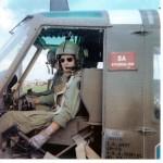 Chuck Howard in Vietnam circa 1968. -photo from Howard