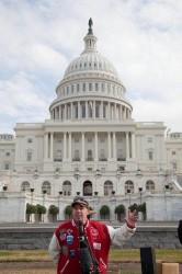 FealGood Foundation founder John Feal speaks at Washington (Photo Courtesy of John Feal)