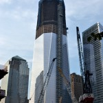 New York, New York 9/26/11 Construction workers continue working hard building The Freedom Tower. -photo by Dan O'Leary